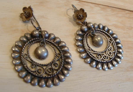 Vintage mexican sterling silver jewelry