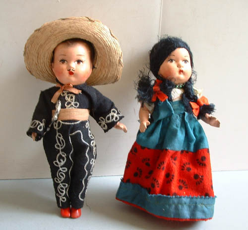 Sehr geil vintage mexican doll fucking