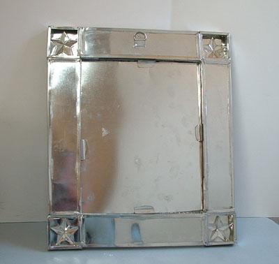 Mexican Handcraft Tin Amp Tile Texas Mirror