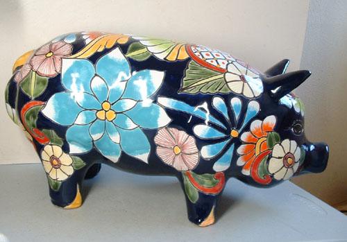 P Talavera Pig